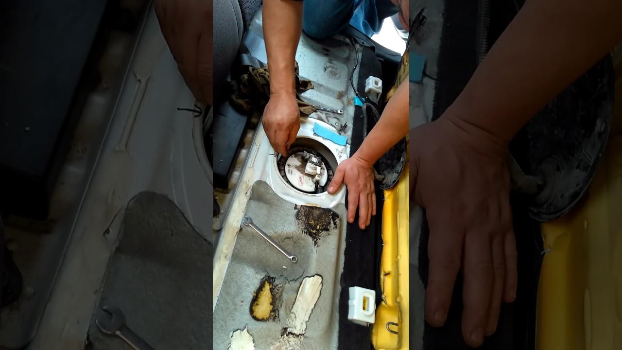 Cambio Bomba De Gasolina Aveo Con Filtro Inclu 237 Do Youtube