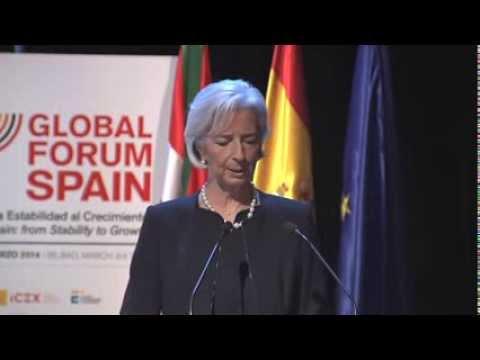 ¿Está Europa en la senda del crecimiento económico sostenible? (Global Forum Spain 2014)