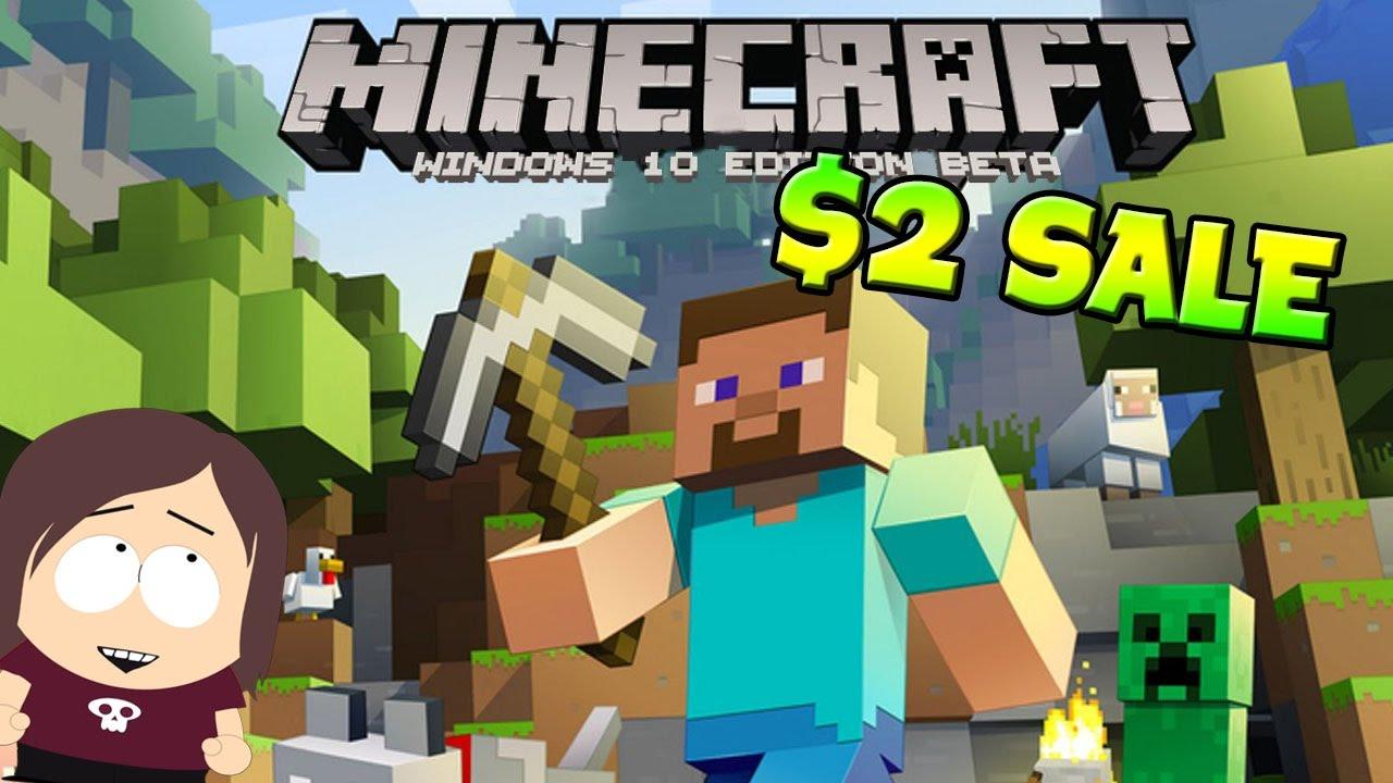 Minecraft Sale  Windows 10 Edition for $10 Cheap