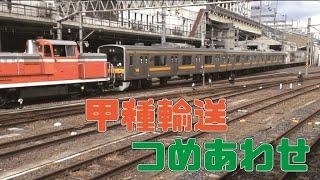 【貨物】東京メトロ日比谷線13000系甲種輸送+おまけ動画