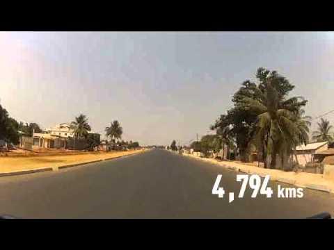 Togo- Grand travaux 2014 - Le Grand contournement de Lomé