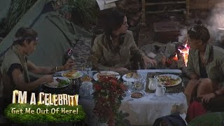 Snake Gatecrashes the Last Supper | I'm A Celebrity... Get Me Out Of Here!