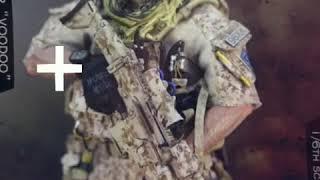 "Soldier Story 1/6 scale Medal Of Honor Navy SEAL Tier One Operator ""Voodoo"""