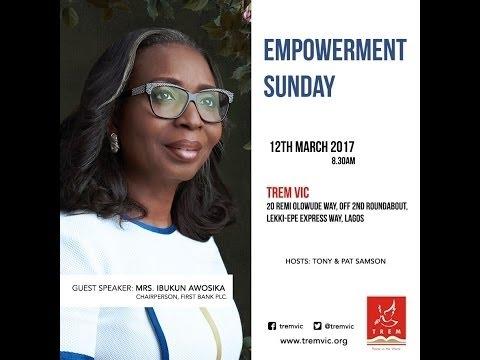 EMPOWERMENT SERVICE - Mrs Awosika Ibukun