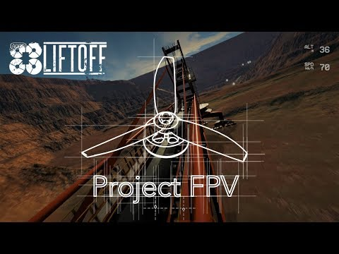 Freestyle fligth on the new Liftoff map | Liftoff FPV simulator | Project FPV