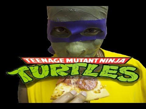 Halloween - Teenage Mutant Ninja Turtle - Costume Make Up Tutorial