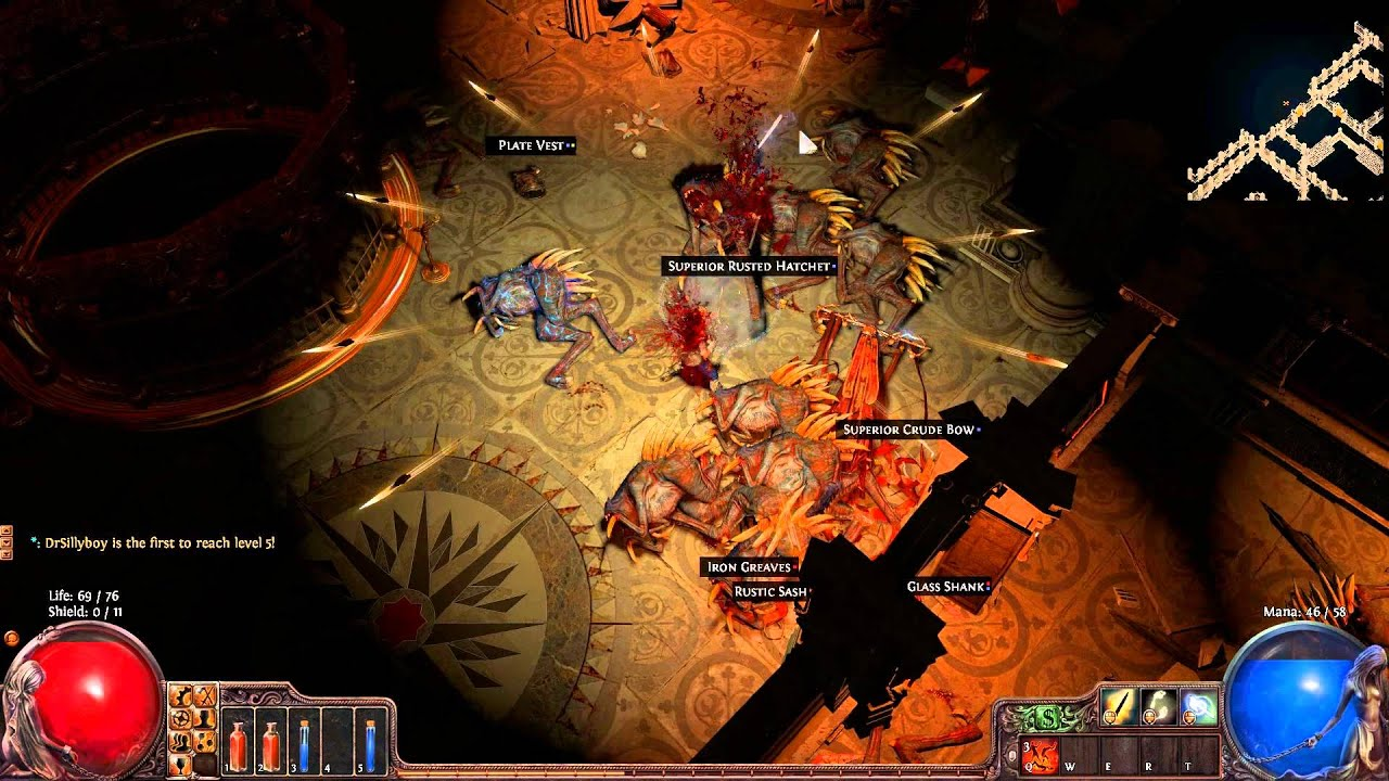 path of exile how to get scion