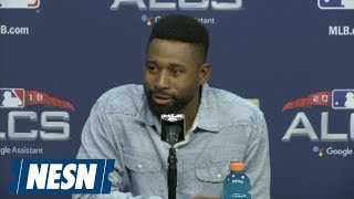 Jackie Bradley Jr. on ALCS Game 3 Grand Slam for Red Sox vs. Astros