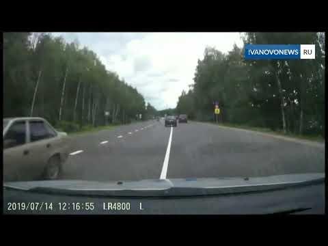 Полицейская погоня на трассе Волгореченск-Иваново