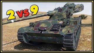 AMX 13 90 - 2 VS 9 - World of Tanks Gameplay