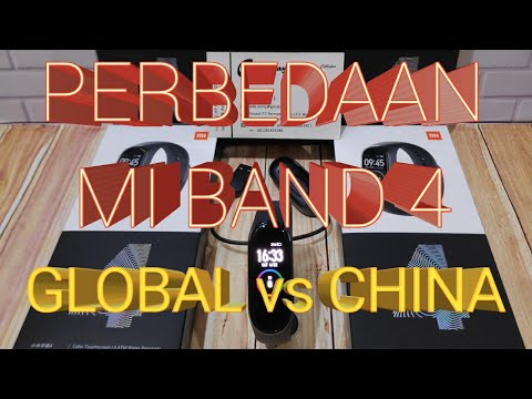 Perbedaan Xiaomi Mi Band 4 Global Vs China Version - Indonesia Compare