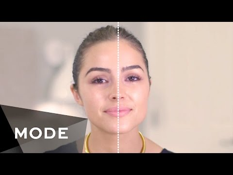 Olivia Culpo Takes the Hi-Lo Makeup Challenge |  About Face