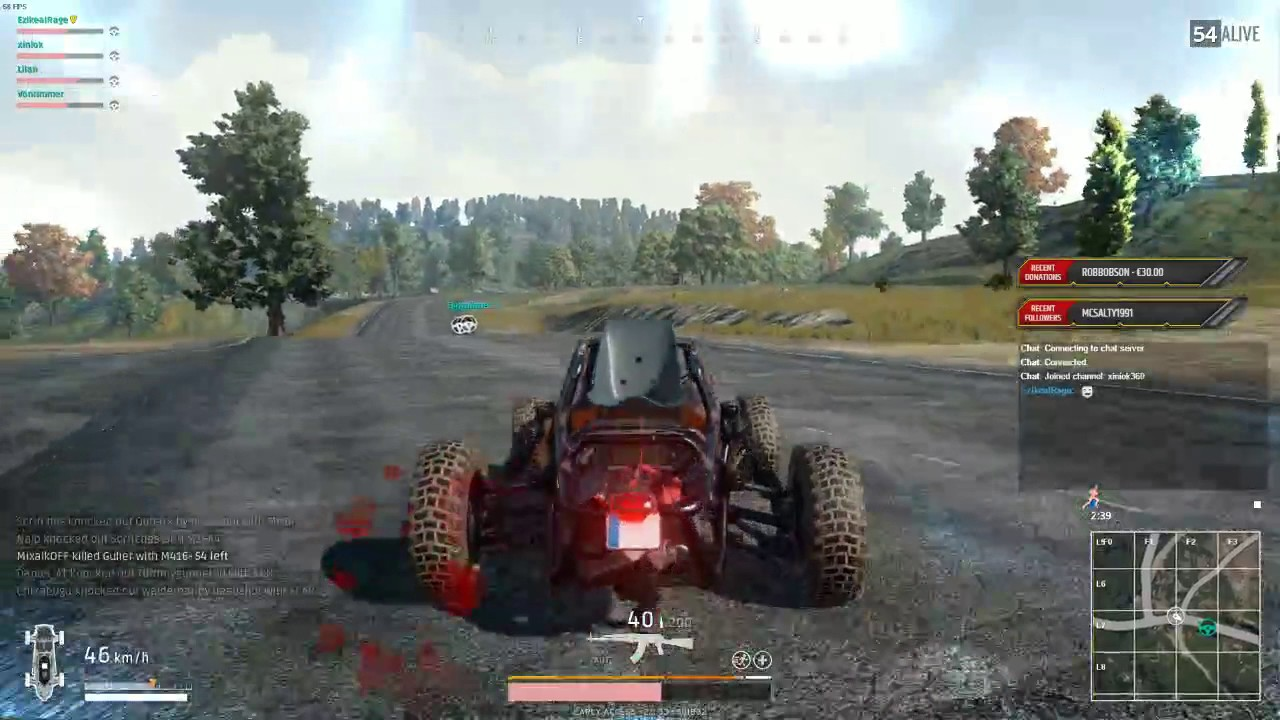 PUBG  - german driving skills