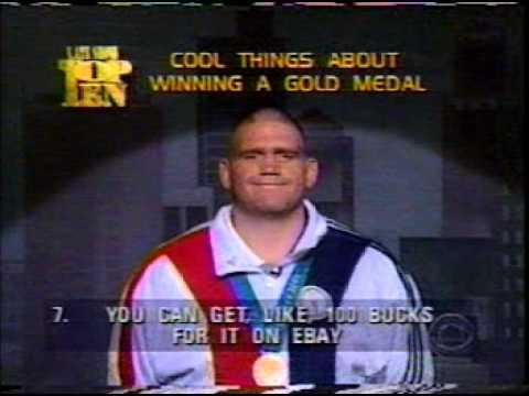 Rulon Gardner on David Letterman