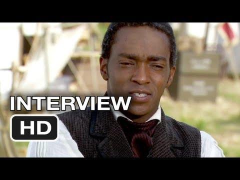 Abraham Lincoln Vampire Hunter Interview - Anthony Mackie - (2012) Movie HD