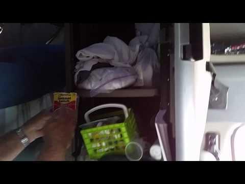 Truck living quarters