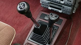 1979 Plymouth Champ Twin Stick Shifter Car