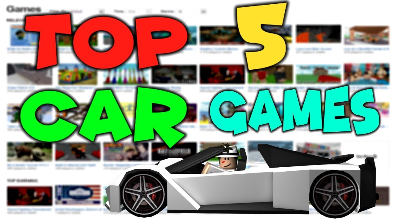 best roblox car games