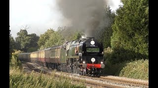 35028 Clan Line - The Atlantic Coast Express - 10th August 2019