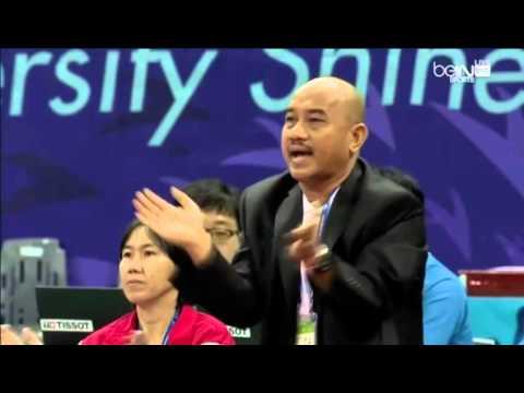 Myanmar Vs Indonesia Women's Sepaktakraw Semifinal Asian Games Incheon 2014