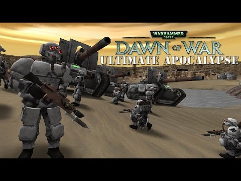 Dawn of War Ultimate Apocalypse Mod - Basilisk Build Cap! - Hell from the Skies