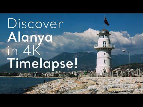 Go Turkey - Discover Alanya In 4K Timelapse!