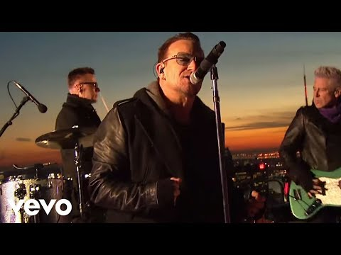 U2 - Invisible (Live on The Tonight Show)
