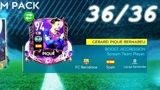 WEEEE GOT 94 SCREAM PIQUE! PERFECT 36/36 RUN! HOW I DID IT? FIFA MOBILE 20