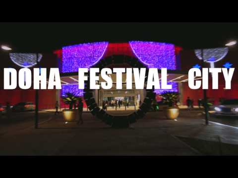 Doha Festival City - The newest and biggest mall in Qatar!!!