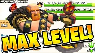 FIRST MAX INFERNO TOWER! + LEVEL 55 QUEEN AND MAX GIANTS! - Road to Max TH12 - Clash of Clans