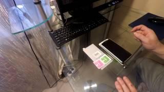 видео Защитные стекла для смартфонов Sony Xperia