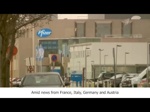 Pfizer vaccine monopoly in Europe - Russia's Channel One story