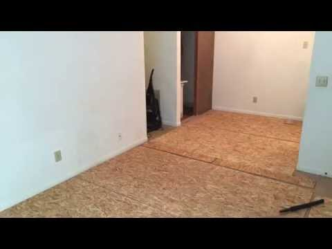 Hardwood Over Carpet Part 2 Youtube