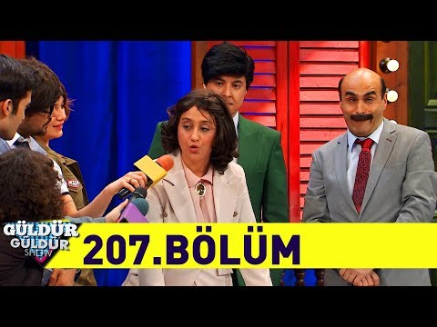 Güldür Güldür Show 207.Bölüm (Tek Parça  HD)
