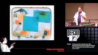 DEF CON 17 - Deviant Ollam - Packing and the Friendly Skies