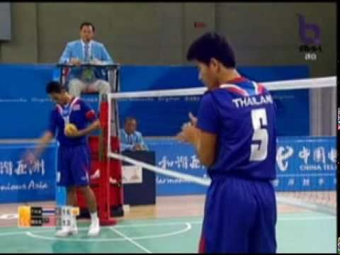 Sepak Takraw(Men's Team A+B) @2010 Asian Games - Thailand vs Malaysia (Gold Medal Match) 7/7