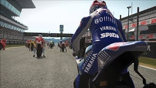 MotoGP 17 - Yamaha YZR-M1 2005 - Test Ride Gameplay (PC HD) [1080p60FPS]