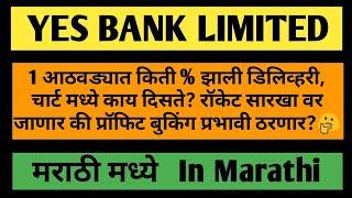 Yes Bank Stock Details, रॉकेट सारखा वर जाणार कि होणार प्रॉफिट बुकिंग?? (Marathi)