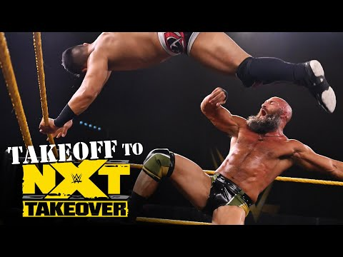 Jake Atlas vs. Tommaso Ciampa: NXT Takeoff to TakeOver, Sept. 23, 2020