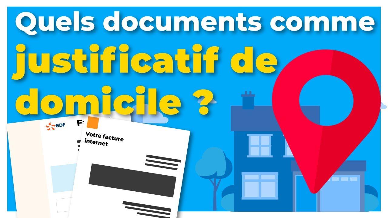 Justificatif de domicile : quels documents sont valables pour faire sa  carte grise ? 📋
