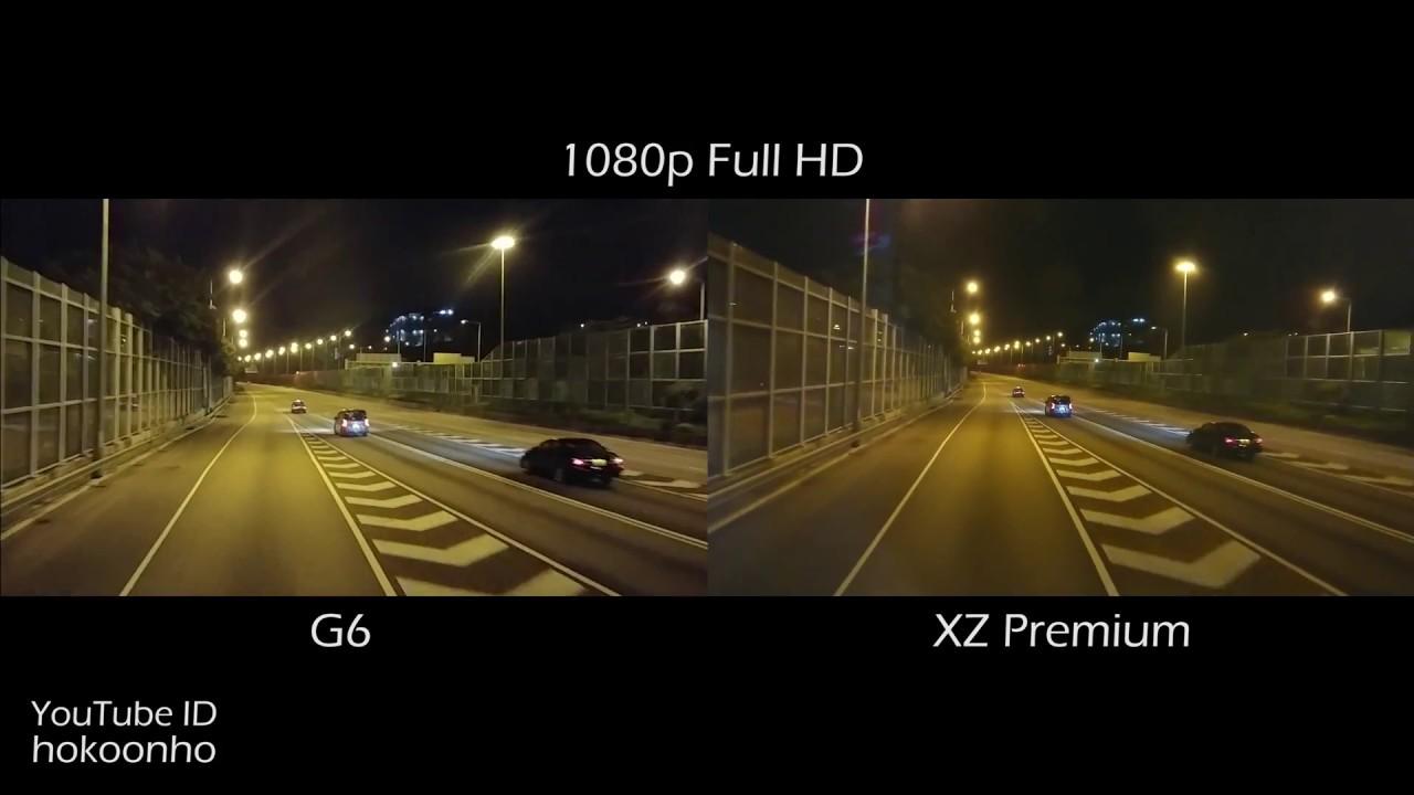 Sony Xperia XZ Premium VS camera test (video)