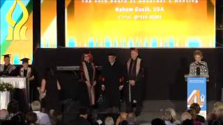 Conferment Ceremony of Honorary Doctoral Degrees at BGU 2014