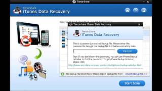 How to Use iTunes Data Recovery [iPhone Data Recovery] How to Recover Lost Data from iTunes