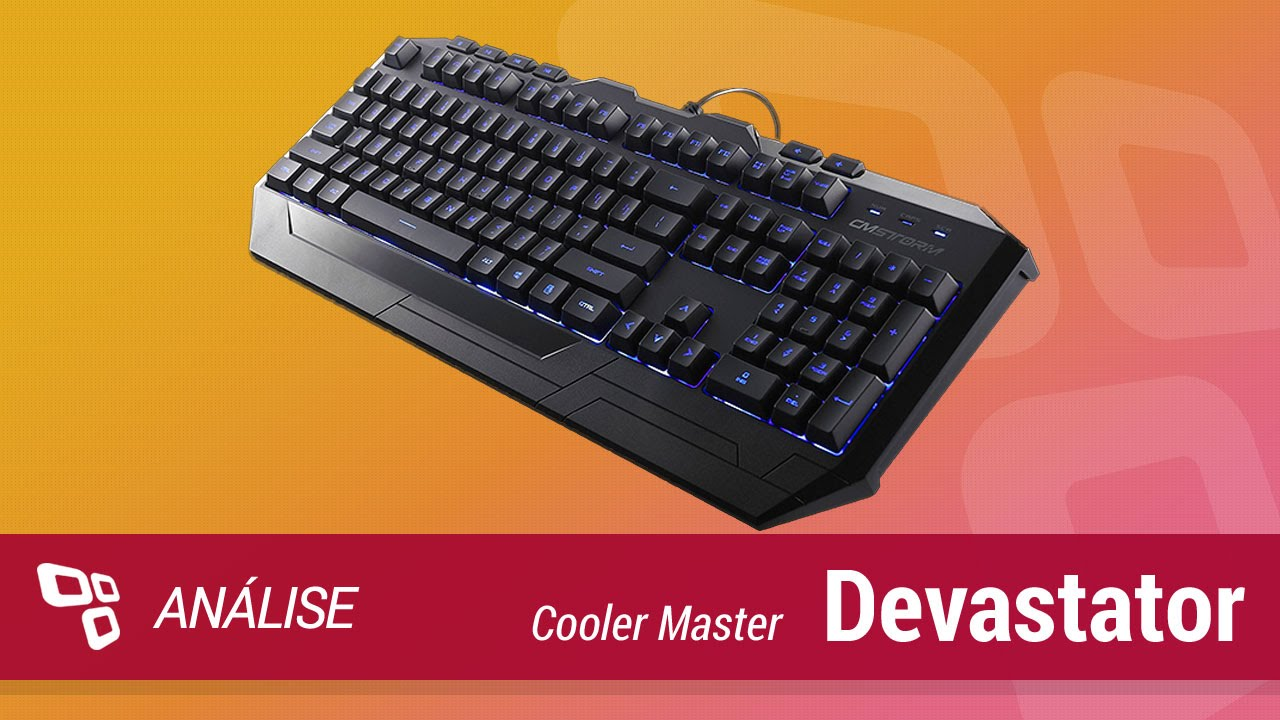10476a5d17f Cooler Master Devastator Gaming Gear Combo (Teclado e Mouse Gamer ...