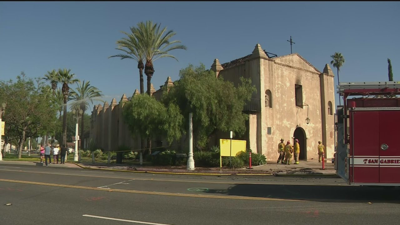 Building That Houses 250-Year-Old San Gabriel Mission Sustains ...