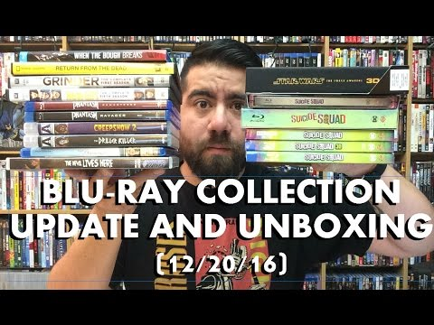 HUGE Bluray Collection Update And Unboxing (12/20/16)