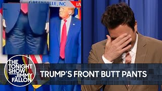 Trump's Front-Butt Pants, Logan Paul and Floyd Mayweather's Boring Fight | The Tonight Show