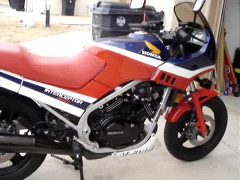 1986 Honda vf500 Interceptor - YouTube