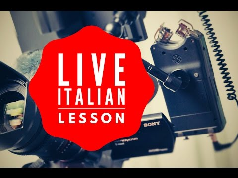 Learn and Improve Your Italian Grammar and Language Skills - 8 Hour LIVE Marathon FOR ALL LEVELS