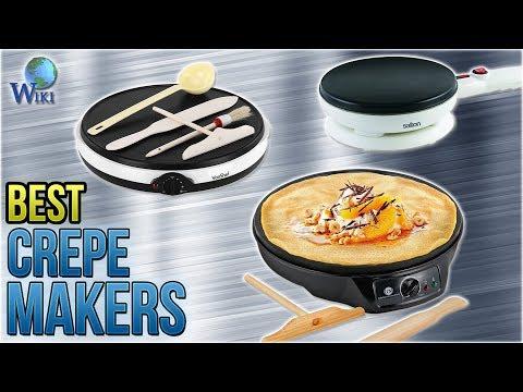 10 Best Crepe Makers 2018